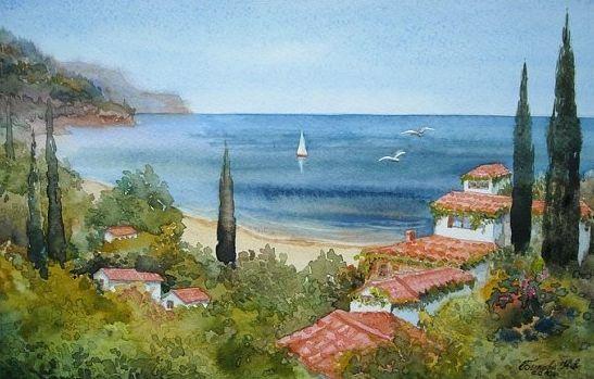 Деревня Искут