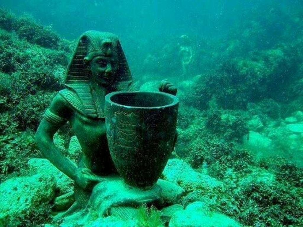 Подводный музей Большой Атлеш