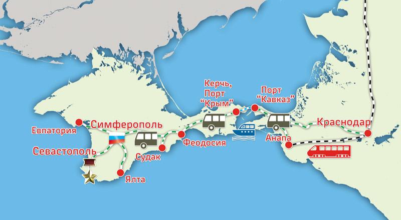 Автобус севастополь анапа отзывы 180