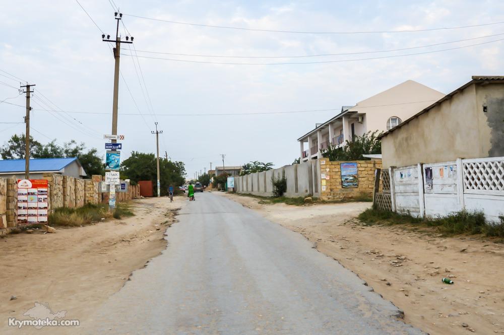 Плохие дороги в Оленевке