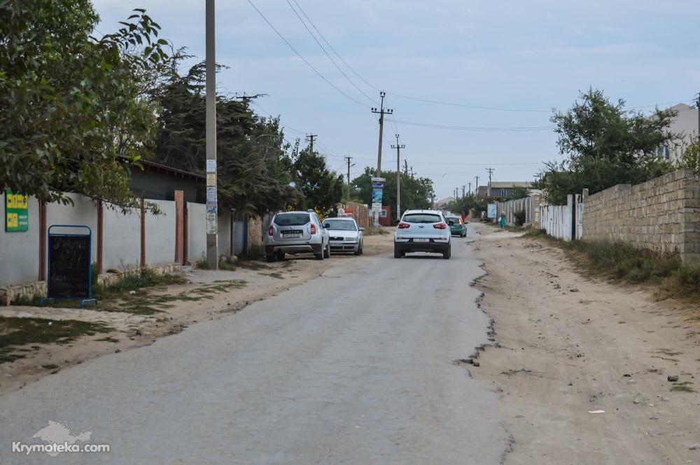 Пример плохой дороги в Оленевке