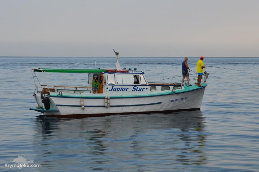 морская рыбалка в ялте 2017